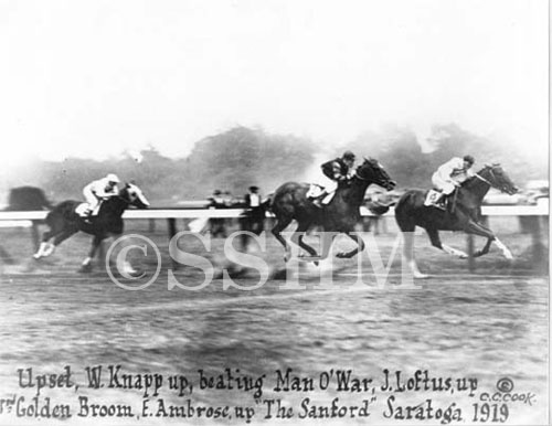 upset-beating-man-o-war-at-saratoga