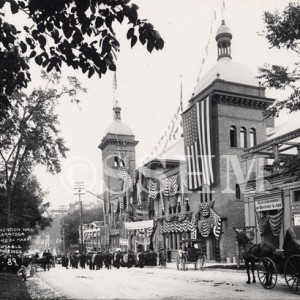 Convention Hall Broadway in 1907