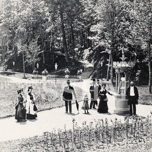 Deer Park Spring in Congress Park 1875